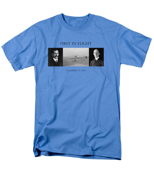 First In Flight - The Wright Brothers - Men's T-Shirt  (Regular Fit)