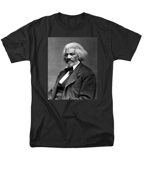 Frederick Douglass Photo - Men's T-Shirt  (Regular Fit)