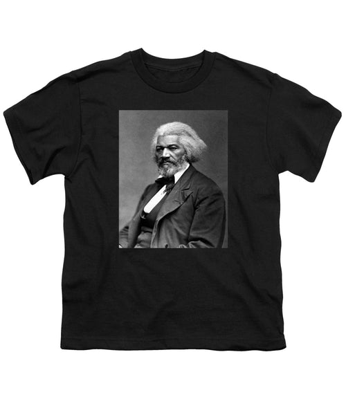 Frederick Douglass Photo - Youth T-Shirt
