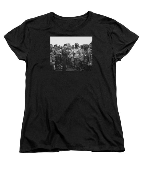 General Eisenhower On D-Day - Women's T-Shirt (Standard Fit)