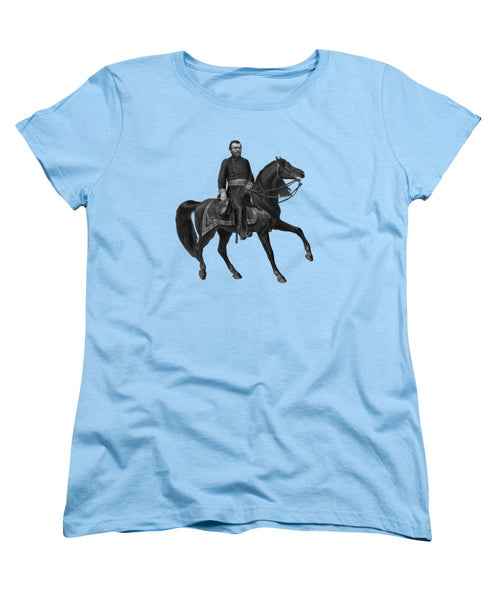 General Grant On Horseback  - Women's T-Shirt (Standard Fit)