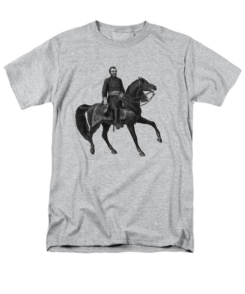 General Grant On Horseback  - Men's T-Shirt  (Regular Fit)