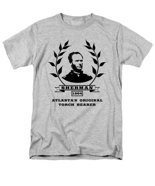 General Sherman - Atlanta's Original Torch Bearer - Men's T-Shirt  (Regular Fit)