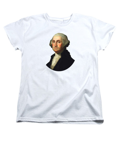 George Washington - Rembrandt Peale - Women's T-Shirt (Standard Fit)