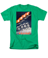 Glory To The CPSU - Soviet Space Propaganda  - Men's T-Shirt  (Regular Fit)