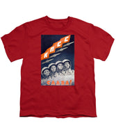 Glory To The CPSU - Soviet Space Propaganda  - Youth T-Shirt
