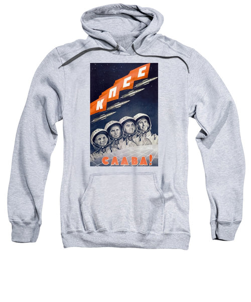 Glory To The CPSU - Soviet Space Propaganda  - Sweatshirt