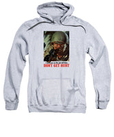 I Need You On The Job Full Time - WW2 Propaganda - Sweatshirt