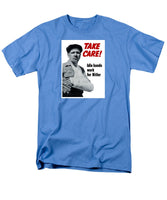 Idle Hands Work For Hitler - Men's T-Shirt  (Regular Fit)