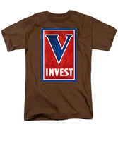Invest In Victory - World War 2 - Men's T-Shirt  (Regular Fit)