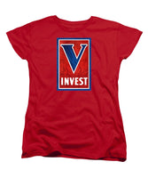 Invest In Victory - World War 2 - Women's T-Shirt (Standard Fit)