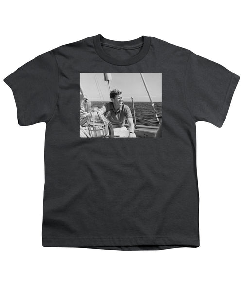 JFK Sailing On Vacation - Youth T-Shirt