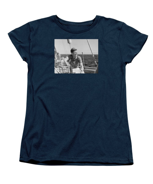 JFK Sailing On Vacation - Women's T-Shirt (Standard Fit)