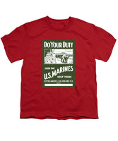 Join The US Marines - Youth T-Shirt