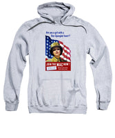 Join The WAC Now - World War Two - Sweatshirt
