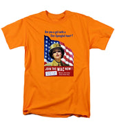 Join The WAC Now - World War Two - Men's T-Shirt  (Regular Fit)