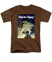 Keep 'em Flying - Uncle Sam  - Men's T-Shirt  (Regular Fit)