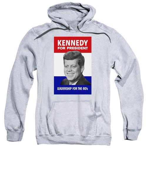 Kennedy For President 1960 Campaign Poster - Sweatshirt