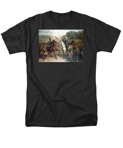 Last Meeting Of Lee And Jackson - Men's T-Shirt  (Regular Fit)