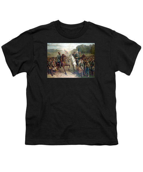 Last Meeting Of Lee And Jackson - Youth T-Shirt