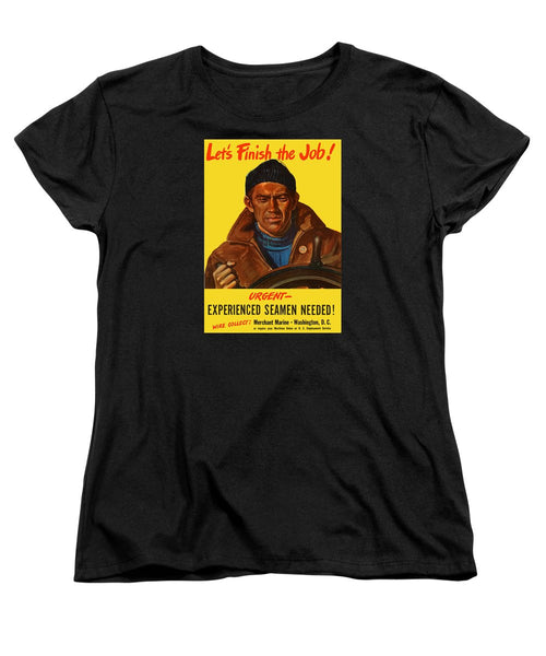 Let's Finish The Job - Merchant Marine Women's T-Shirt (Standard Fit)