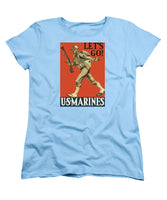 Let's Go - Vintage Marine Recruiting - Women's T-Shirt (Standard Fit)