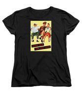 Loose Talk Can Cost Lives - World War Two - Women's T-Shirt (Standard Fit)