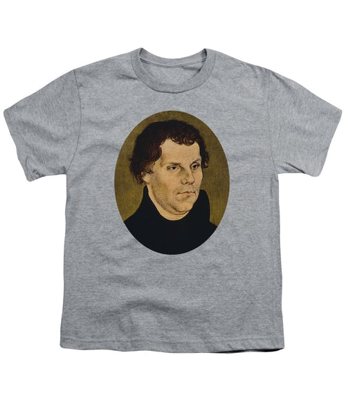 Martin Luther Painting  - Youth T-Shirt