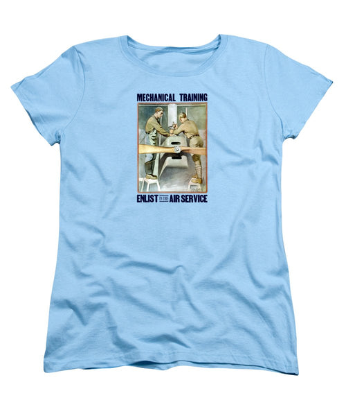 Mechanical Training - Enlist In The Air Service - Women's T-Shirt (Standard Fit)