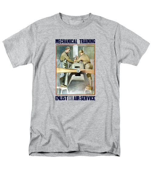 Mechanical Training - Enlist In The Air Service - Men's T-Shirt  (Regular Fit)