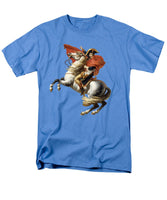 Napoleon Bonaparte On Horseback - Men's T-Shirt  (Regular Fit)