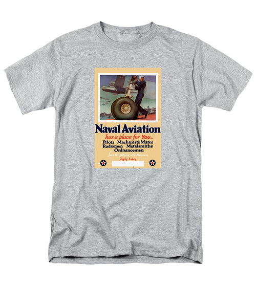 Naval Aviation Has A Place For You - Men's T-Shirt  (Regular Fit)