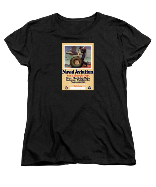 Naval Aviation Has A Place For You - Women's T-Shirt (Standard Fit)