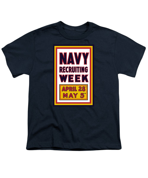 Navy Recruiting Week  - Youth T-Shirt