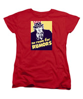 No Room For Rumors - Uncle Sam - Women's T-Shirt (Standard Fit)