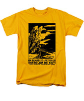 On Guard - Join The Navy - Men's T-Shirt  (Regular Fit)