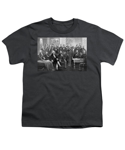 Our American Presidents 1789 - 1881  - Youth T-Shirt