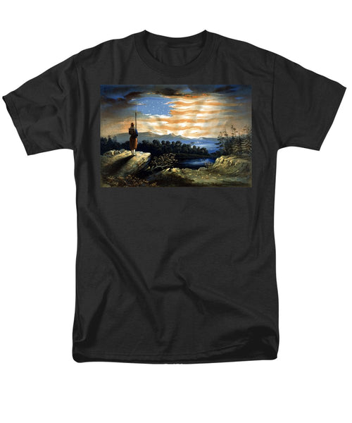 Our Heaven Born Banner - Men's T-Shirt  (Regular Fit)