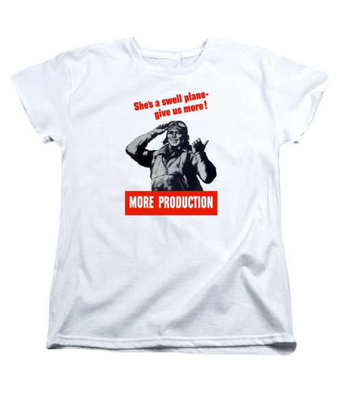 Plane Production - Give Us More - Women's T-Shirt (Standard Fit)
