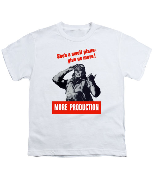 Plane Production - Give Us More - Youth T-Shirt
