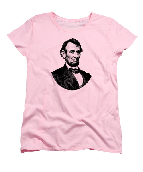 President Abraham Lincoln Graphic - Women's T-Shirt (Standard Fit)