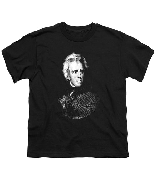 President Andrew Jackson Graphic - Youth T-Shirt