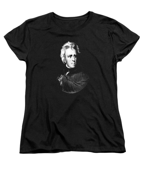 President Andrew Jackson Graphic - Women's T-Shirt (Standard Fit)