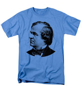 President Andrew Johnson Graphic - Black And White - Men's T-Shirt  (Regular Fit)