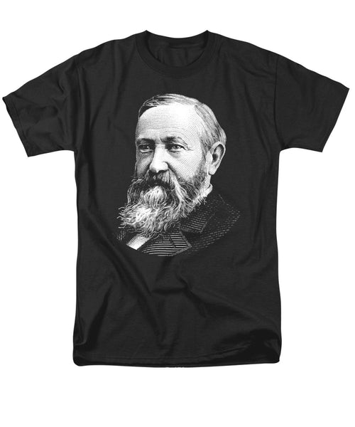 President Benjamin Harrison Graphic - Men's T-Shirt  (Regular Fit)
