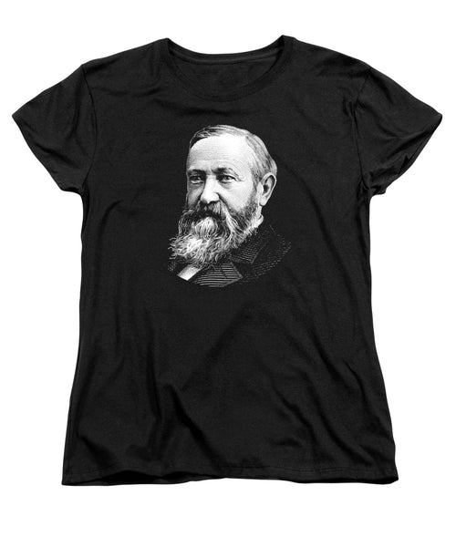 President Benjamin Harrison Graphic - Women's T-Shirt (Standard Fit)
