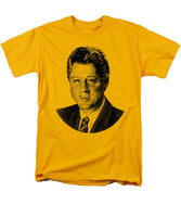 President Bill Clinton Graphic - Black And White - Men's T-Shirt  (Regular Fit)