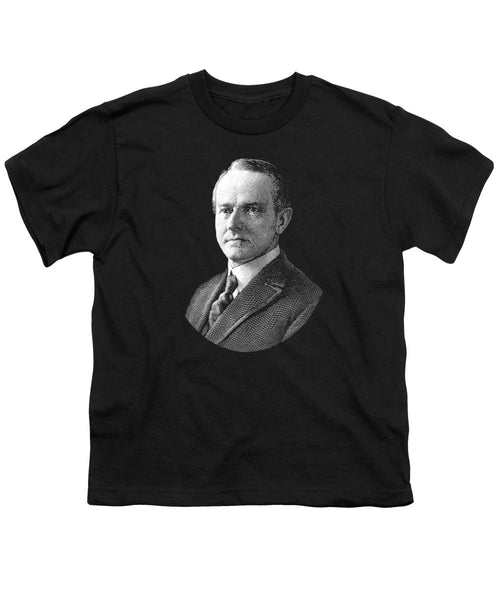 President Calvin Coolidge Graphic - Youth T-Shirt