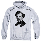 President Franklin Pierce Graphic - Black And White - Sweatshirt
