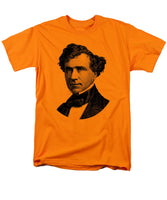 President Franklin Pierce Graphic - Black And White - Men's T-Shirt  (Regular Fit)